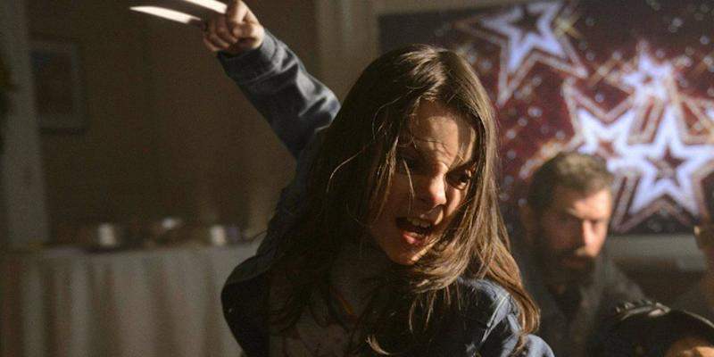 Wolverine's successor? Dafne Keen as X-23 in 'Logan' (credit: 20th Century Fox)