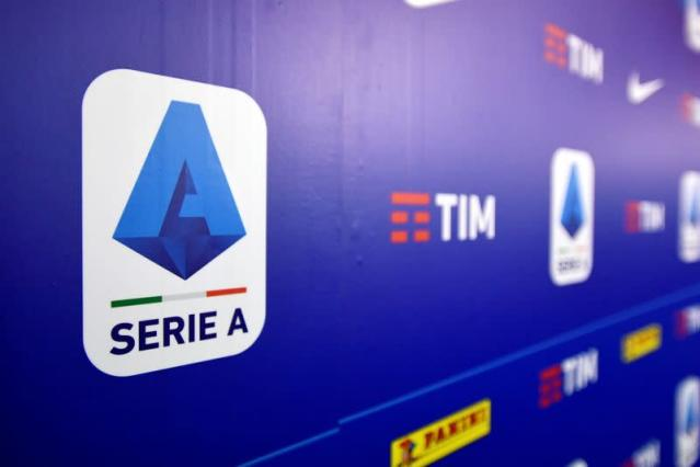 FILE PHOTO: Italy's Lega Serie A headquarters in Milan