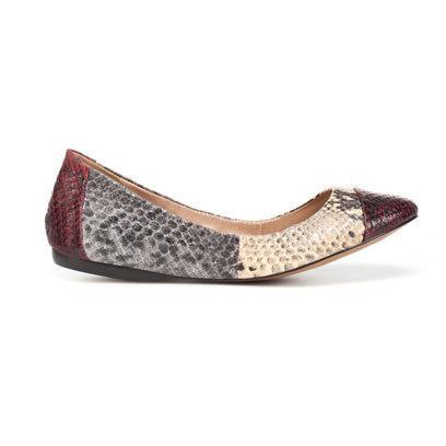 Ballerina pump by Zara: Flat Shoes for the Weekend