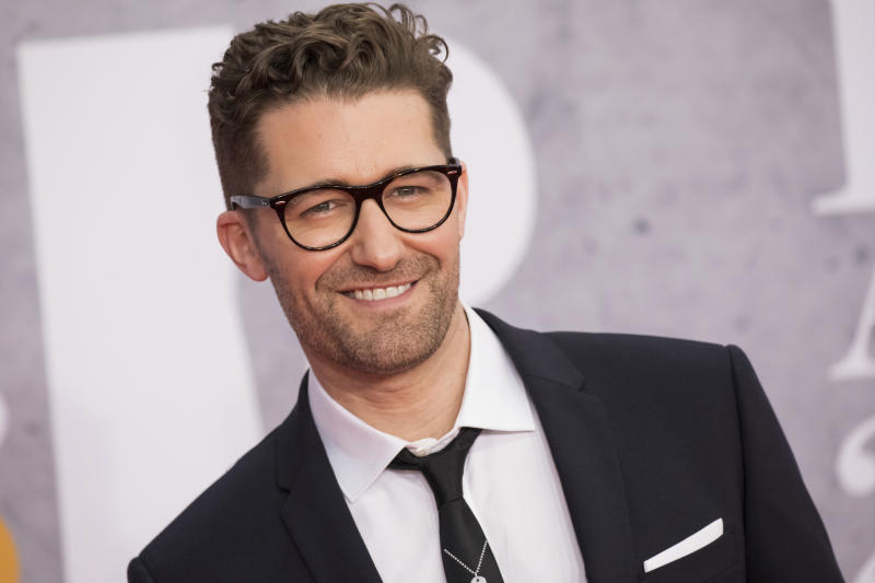Matthew Morrison poses for photographers upon arrival at the Brit Awards in London, Wednesday, Feb. 20, 2019. (Photo by Vianney Le Caer/Invision/AP)