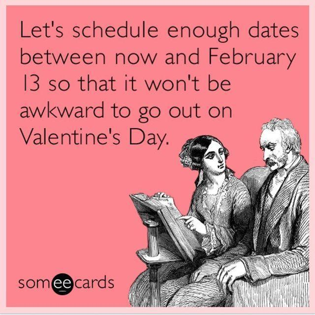 """<p>Ah, yes, the awkwardness of <em>just</em> entering a new relationship around Valentine's Day ... </p><p><a href=""""https://www.instagram.com/p/BtlaCefAAvo/"""" rel=""""nofollow noopener"""" target=""""_blank"""" data-ylk=""""slk:See the original post on Instagram"""" class=""""link rapid-noclick-resp"""">See the original post on Instagram</a></p>"""