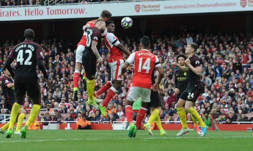 Shkodran Mustafi earns Arsenal share of points against Manchester City