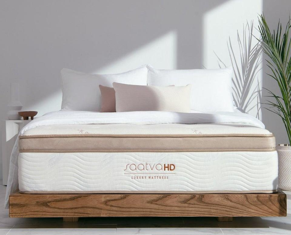 Saatva HD is the first luxury mattress specifically designed for people weighing between 300 and 500 pounds.