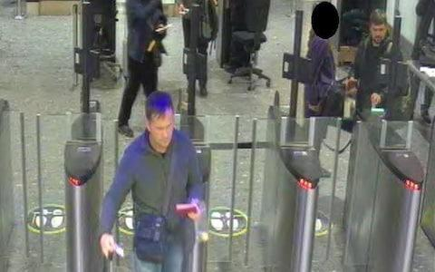 The two suspects at Heathrow airport security - Credit: Metropolitan Police