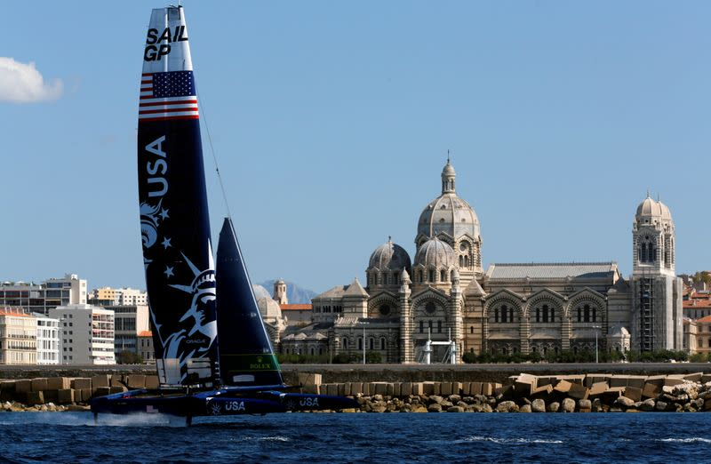 SailGP looks beyond wind power to hit climate positive goal
