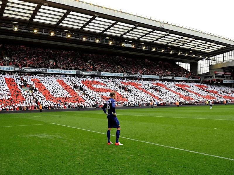 The Centenary Stand at Anfield will be renamed the Kenny Dalglish Stand (Getty)