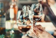 <p>Summer might be about rose all day, but fall is also a great season to go wine tasting. Most wineries are still open but don't have the crush of people in the warmer months. Cheers!</p>