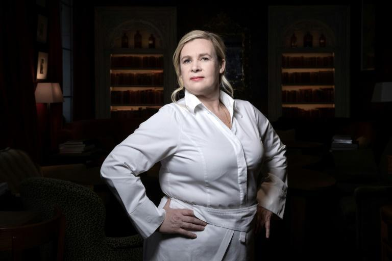 "Recipes such as grouse with foie gras and whiskey sauce helped win Darroze the title of ""Best female chef in the world"" in 2015 from Britain's ""50 Best Restaurants"""