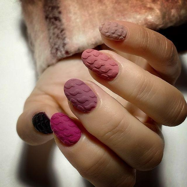 """<p>We'll be continuing to bid farewell to the default of flat nails in 2021, and nail artists will be set to harness embossing techniques to whip up all kinds of trends, from mock-croc to zebra print, designer logos to wallpaper print. High maintenance, sure. Worth it? Absolutely.</p><p><a href=""""https://www.instagram.com/p/CIDFFKEAWSJ/"""" rel=""""nofollow noopener"""" target=""""_blank"""" data-ylk=""""slk:See the original post on Instagram"""" class=""""link rapid-noclick-resp"""">See the original post on Instagram</a></p>"""