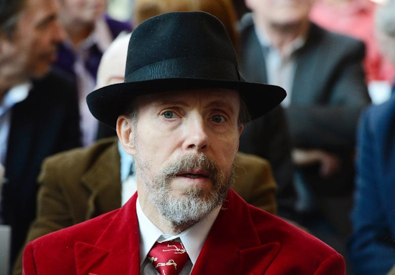 "German anatomist Gunther von Hagens attends a press preview of his ""Menschen Museum"" (Human Being Museum) on the eve of the opening in Berlin, on February 17, 2015 (AFP Photo/John MacDougall )"