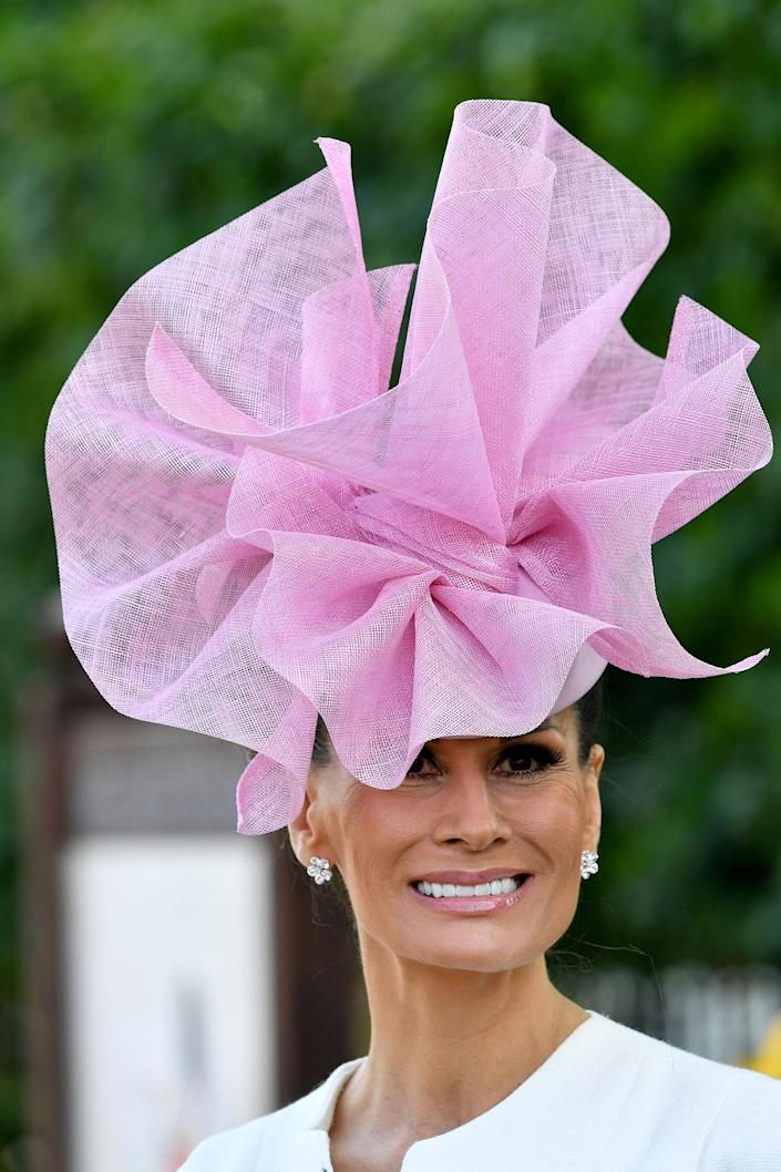 <p>Isabell Kristensen attends the first day off Royal Ascot 2017 at Ascot Racecourse on June 20, 2017 in Ascot, England. (Anwar Hussein/WireImage) </p>