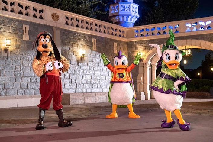 The Disney parks keep things G-rated for the pirates and princesses crowd. the Magic Kingdom at Florida's Walt Disney World is offering Disney After Hours Boo Bash, a separately-ticked event on select evenings through Oct. 31.