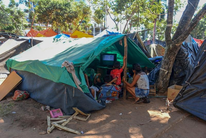 Although Paraguay has seen an average growth of 4% over the past decade, it remains one of Latin America's poorest countries, with 26.4 percent of people living in poverty (AFP Photo/Norberto DUARTE)