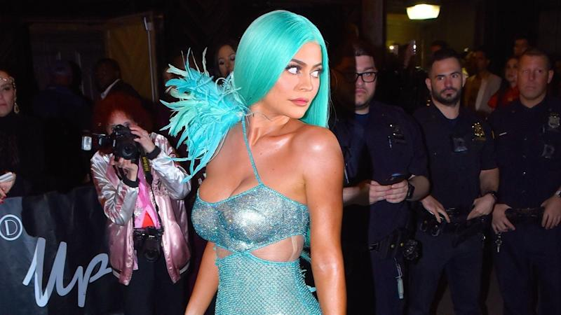 Kylie Jenner Quotes Justin Bieber as She Debuts Yellow Hair -- and Hailey Bieber Approves!
