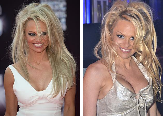 Pamela anderson ditches the pixie cut and returns to her rock pamela anderson ditches the pixie cut and returns to her rock star lifestyle with hair extensions pmusecretfo Images