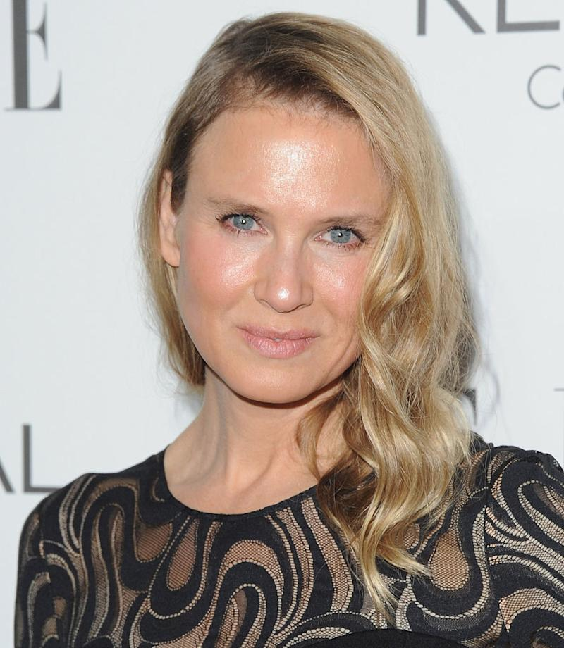 Actress Renee Zellweger looked unrecognizable at a 2014 event. (Photo: Getty Images)