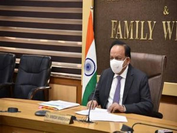 Heath and Family Affairs Minister Harsh Vardhan addressing the GPC meeting on Wednesday