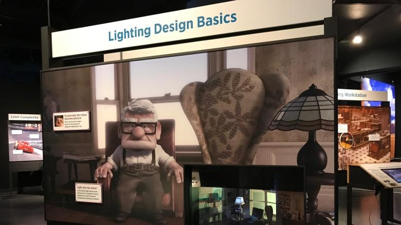 Pixar's filmmaking magic revealed at Science World exhibit