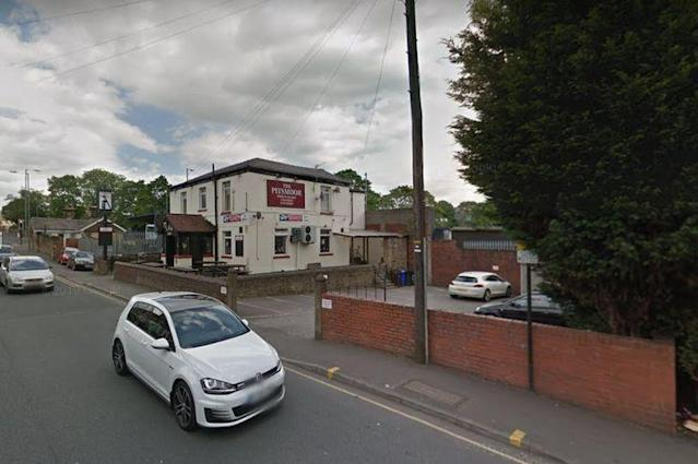 Police visited the The Pitsmoor Hotel in Pitsmoor Road, Sheffield, on April 24 to discover it was still open. (GOOGLE)