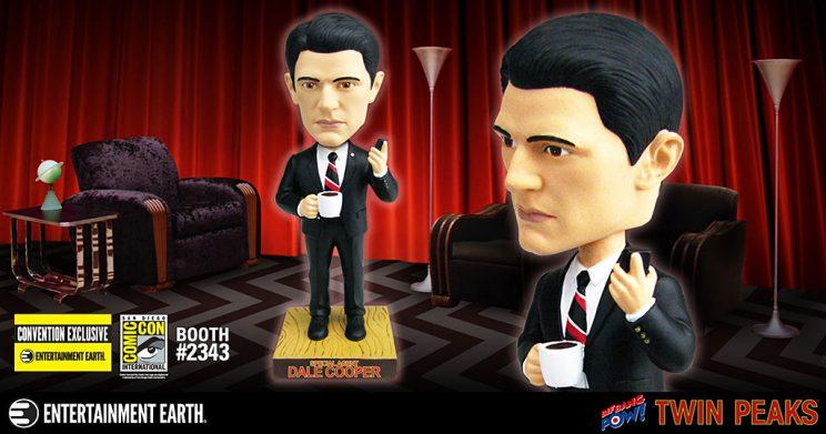 Twin Peaks' Agent Dale Cooper bobble head. (Courtesy: Entertainment Earth)