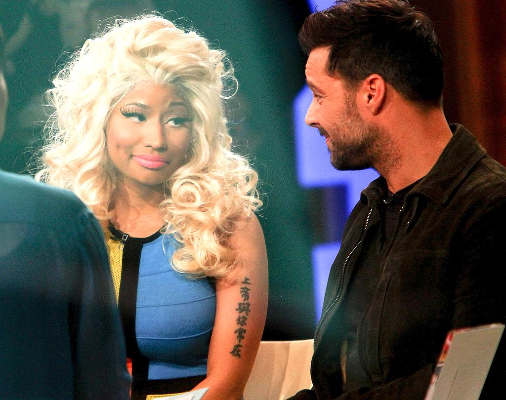 """Nicki, who was born in the island nation of Trinidad & Tobago, lost an uncle to AIDS. """"It's important for people from the islands to understand that it's not  something that should only be discussed in America,"""" the singer told anchor Robin Roberts.  """"This is something that is killing a lot of young black women, so, for  me, that's why it hits home."""" (2/15/2012)"""
