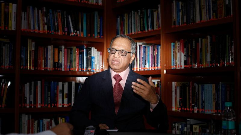 Narayana Murthy's Interaction With Infosys Investors Postponed