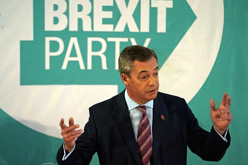 Brexit Party won't challenge Conservatives in U.K
