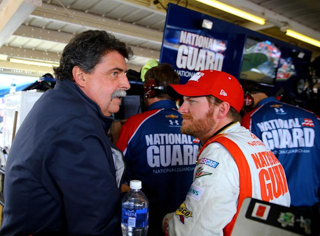Mike Helton says a road course in Chase not currently on NASCAR's 'short list'