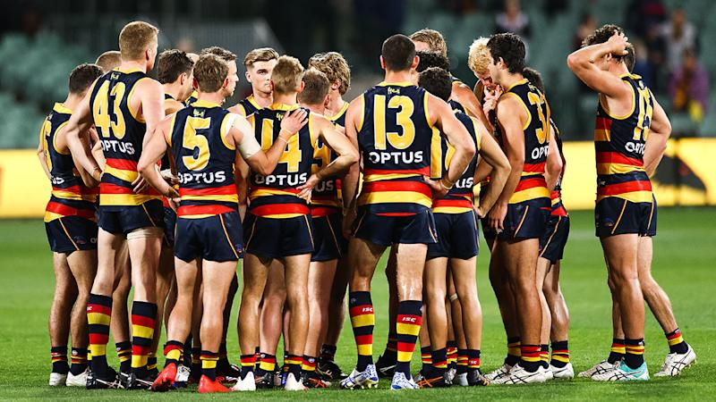 The Adelaide Crows endured a torrid 2020 season in which they finished at the bottom of the AFL ladder with just three wins. (Photo by Daniel Kalisz/Getty Images)