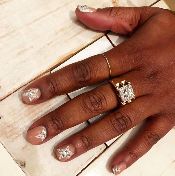These blingy stars are perfect for New Year's Eve—just add an LBD.