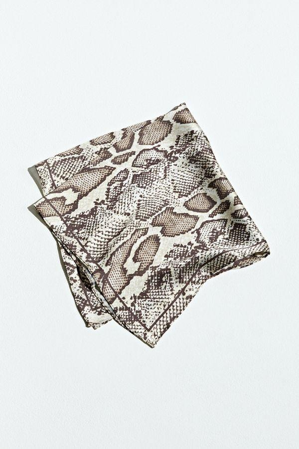 """<br><br><strong>Urban Outfitters</strong> Snake Print Bandana, $, available at <a href=""""https://go.skimresources.com/?id=30283X879131&url=https%3A%2F%2Ffave.co%2F3e1DX7e"""" rel=""""nofollow noopener"""" target=""""_blank"""" data-ylk=""""slk:Urban Outfitters"""" class=""""link rapid-noclick-resp"""">Urban Outfitters</a>"""