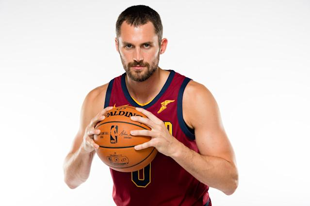Kevin Love is now set to reclaim the No. 1 option role in Cleveland. (Photo by Jason Miller/Getty Images)