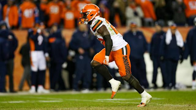 """Jabrill Peppers has hit out at the Bengals, saying one of their players told him: """"Why are you talking? You play for the Browns."""""""