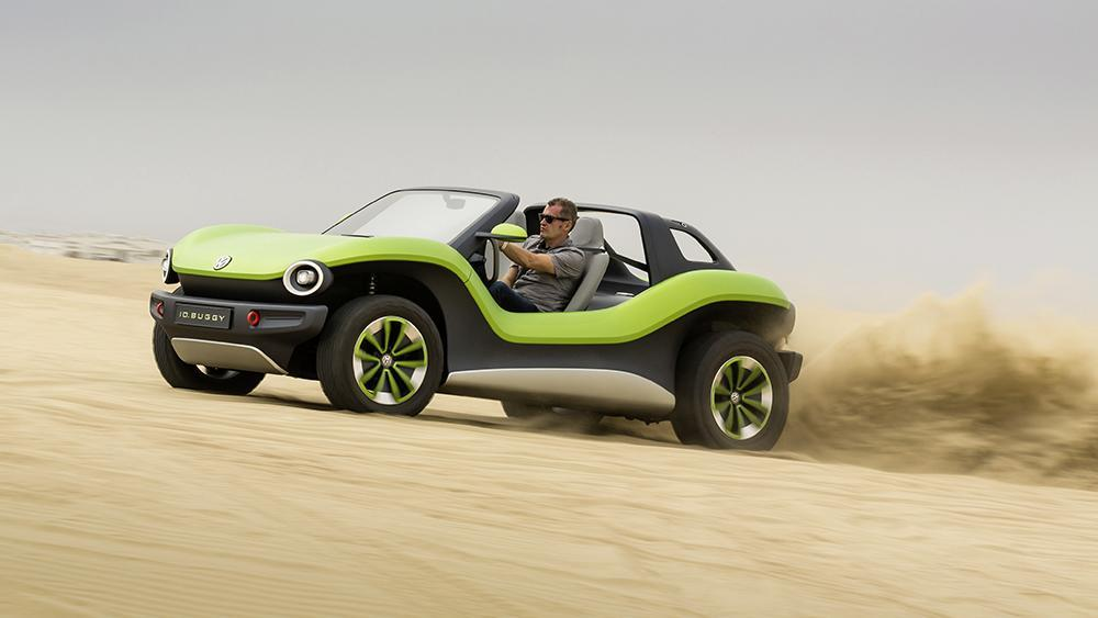 Volkswagen's New All-Electric Dune Buggy Pays Tribute to the '60s Original