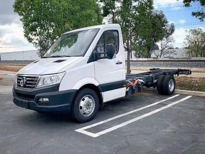 GreenPower's EV Star Cab and Chassis