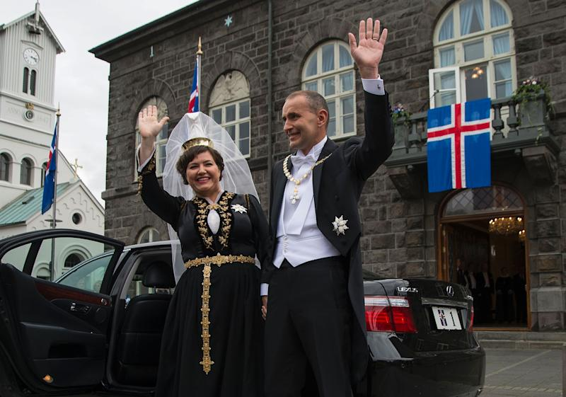 "Eliza Reid opens up about being First Lady of Iceland and how ""incredibly weird"" the job is. (Photo: Getty Images)"