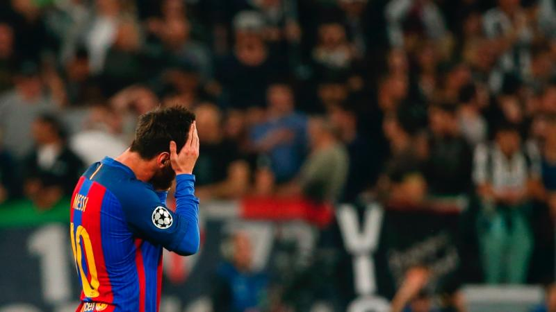 Lionel Messi Juventus Barcelona UCL 11042017