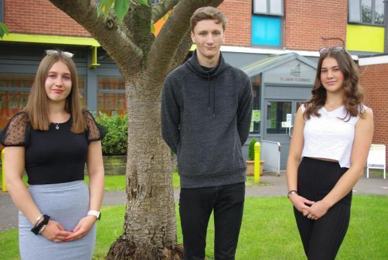 Bethan Pottle, Fabien Faria and Alice Kelly are back at Bosworth Academy