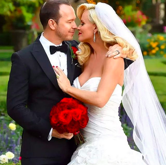 "<p>The SiriusXM radio host shared a throwback from her and Wahlberg's wedding day. ""Then, now and forever you have my heart. Happy Anniversary, my love,"" she wrote. (Photo: <a href=""https://www.instagram.com/p/BYe5oupn-SN/?taken-by=jennymccarthy"" rel=""nofollow noopener"" target=""_blank"" data-ylk=""slk:Jenny McCarthy via Instagram"" class=""link rapid-noclick-resp"">Jenny McCarthy via Instagram</a>) </p>"