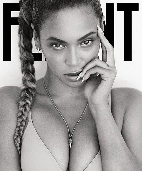 Beyonce bares it all on the cover of Flaunt magazine. Photo credit: Flaunt magazine
