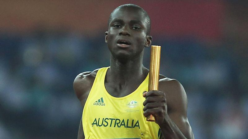 Isaac Ntiamoah took part in the 2010 Commonwealth Games (pictured) and 2012 London Olympics. Pic: Getty