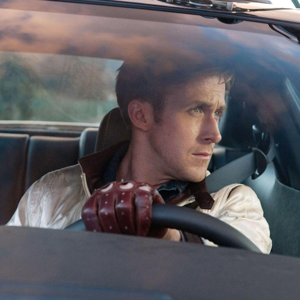 """<p>If there's one literary device filmmaker Nicolas Winding Refn has masterfully decoded, it's juxtaposition. See exhibit A: <em>Drive</em>, a violent action film soundtracked by a collection of shimmery, romantic, '80s-inspired pop tracks. Ryan Gosling stars as a stuntman who moonlights as a getaway driver and gets tangled up with some small-time West Coast gangsters. But don't expect him to tell you that—there's very little dialogue from his no-name character. Luckily, we have <a href=""""https://www.youtube.com/watch?v=Vw3WX7uW_f0"""" rel=""""nofollow noopener"""" target=""""_blank"""" data-ylk=""""slk:The Chromatics"""" class=""""link rapid-noclick-resp"""">The Chromatics</a>, <a href=""""https://vimeo.com/33811744"""" rel=""""nofollow noopener"""" target=""""_blank"""" data-ylk=""""slk:Lovefoxxx"""" class=""""link rapid-noclick-resp"""">Lovefoxxx</a>, <a href=""""https://www.youtube.com/watch?v=wcV1UpZAWAc"""" rel=""""nofollow noopener"""" target=""""_blank"""" data-ylk=""""slk:College"""" class=""""link rapid-noclick-resp"""">College</a>, and <a href=""""https://www.youtube.com/watch?v=WflAReA2cqs"""" rel=""""nofollow noopener"""" target=""""_blank"""" data-ylk=""""slk:Desire"""" class=""""link rapid-noclick-resp"""">Desire</a> to fill in the uncomfortable silence with dreamy tunes. </p><p><a class=""""link rapid-noclick-resp"""" href=""""https://www.amazon.com/Drive-Ryan-Gosling/dp/B006W0QOF2?tag=syn-yahoo-20&ascsubtag=%5Bartid%7C10056.g.32872244%5Bsrc%7Cyahoo-us"""" rel=""""nofollow noopener"""" target=""""_blank"""" data-ylk=""""slk:Watch and Listen"""">Watch and Listen</a></p>"""