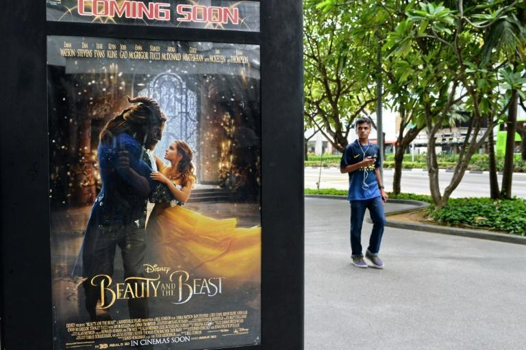 """Film site Fandango reported """"Beauty and the Beast"""" had sold out at more than 1,000 showtimes in big cities and small, something more common for superhero blockbusters than for a family-oriented production"""