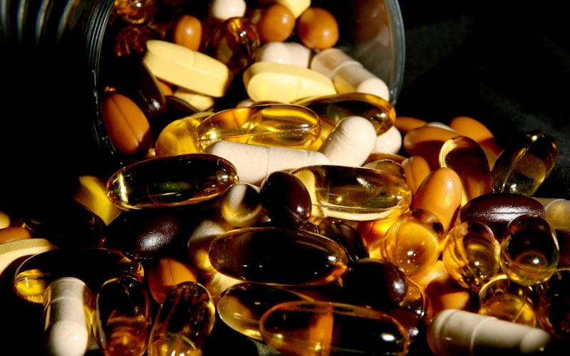 Vitamin supplements don't help people live longer, study finds