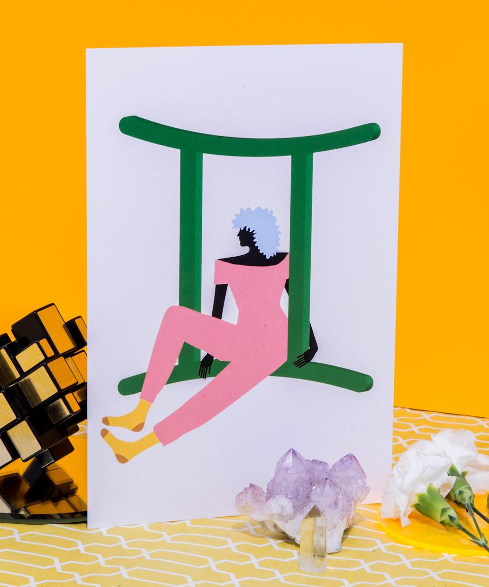 """<h3>Gemini <br></h3>The end of Mercury retrograde on June 22 and (and the <a href=""""https://www.refinery29.com/en-us/2021/02/10320398/mercury-retrograde-end-direct-february-2021-meaning-effects"""" rel=""""nofollow noopener"""" target=""""_blank"""" data-ylk=""""slk:post-retrograde """"retro-shade"""" period"""" class=""""link rapid-noclick-resp"""">post-retrograde """"retro-shade"""" period</a> on July 7) will open up the door to new relationships. You're thirsting for excitement and wanting to meet interesting people on July 13 during the Venus-Mars conjunction in Leo. But, being the social butterfly that you are, it'll be hard for anyone to hold you back from exploring and connecting with a ton of cool peeps. Things will change on August 16 (Venus enters flirty Libra then), when a chance, IRL encounter (no apps involved) brings you face-to-face with someone special. This person won't be your usual type, and yet around August 30, as Mercury shifts into the commitment-minded sign of Libra, you'll find yourself wanting to forge a relationship with them. <span class=""""copyright"""">Photographed by Megan Madden.</span>"""
