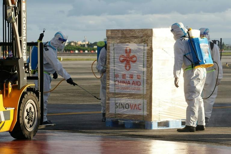 China has committed to shipping vaccines overseas as it works to blunt foreign criticism of the initial spread of the virus from its shores
