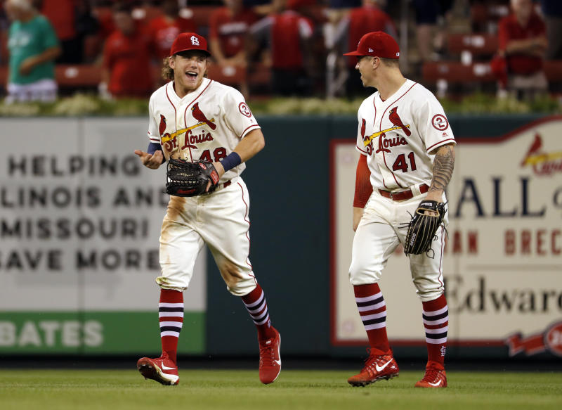 The Cardinals in surging in the National League. (AP)