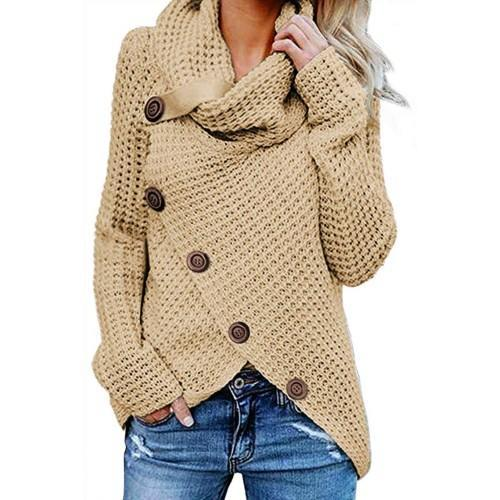 With this sweater, you'll get a unique and stylish shape with a flattering fit. (Photo: Amazon)