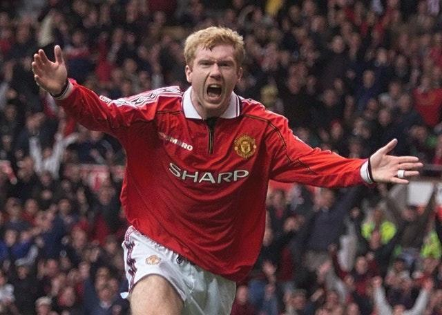 Paul Scholes paid tribute to one of his heroes