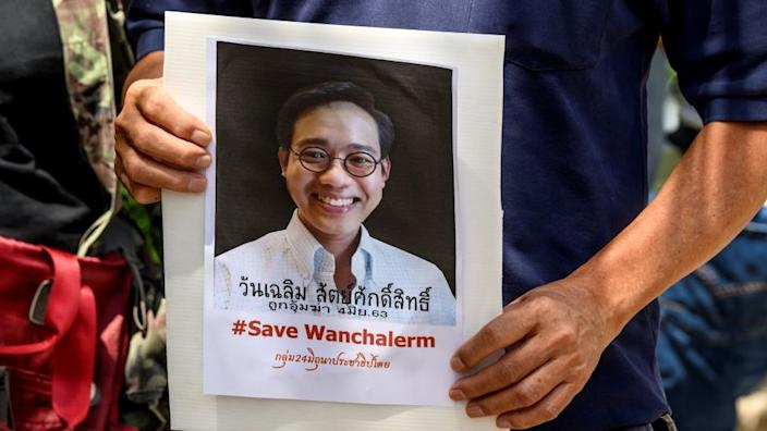 Pro-democracy activist Wanchalearm Satsaksit was reportedly snatched off the street in Cambodia